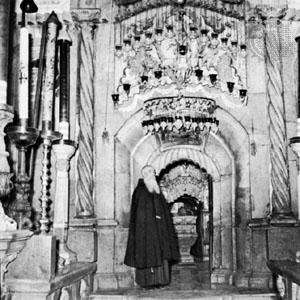 Entrance to the Holy Sepulchre, Jerusalem