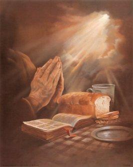 دعا هنگام غذا
